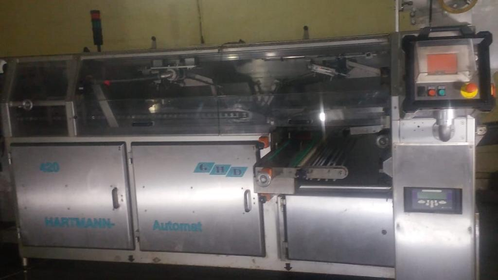 Hartmann slicing and packaging line
